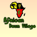 African Drum Village Favicon